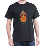 Kawaii Orange Candy Apple Dark T-Shirt
