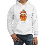 Kawaii Orange Candy Apple Hooded Sweatshirt
