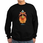 Kawaii Orange Candy Apple Sweatshirt (dark)