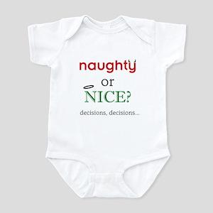 Naughty or Nice Infant Bodysuit