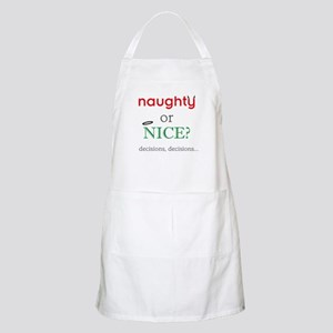 Naughty or Nice Apron
