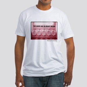 Kinnick Pink Fitted T-Shirt