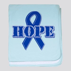 Purple Hope Ribbon Infant Blanket