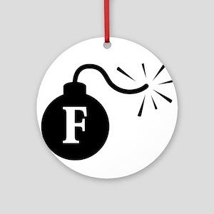 FBomb Ornament (Round)