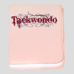 Taekwondo Red Infant Blanket