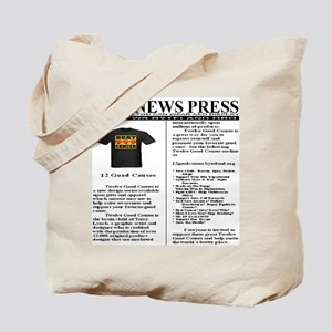 Twelve Good Causes Tote Bag