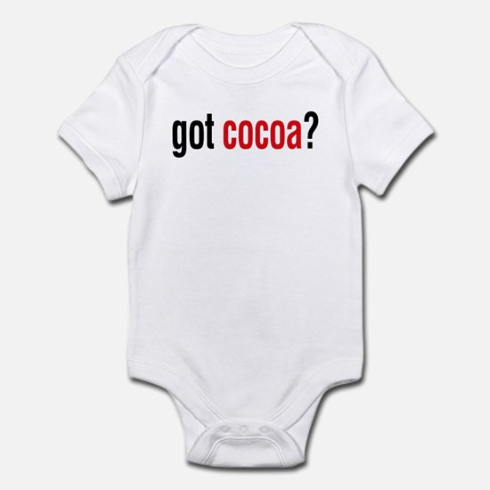 got cocoa? Infant Bodysuit
