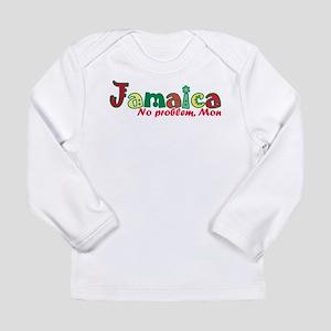 Jamaica No Problem Long Sleeve Infant T-Shirt