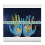 Infinite Funds Global Hand Map Tile Coaster