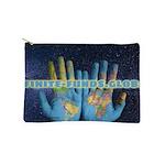 Infinite Funds Global Hand Map Makeup Bag