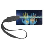 Infinite Funds Global Hand Map Luggage Tag