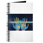 Infinite Funds Global Hand Map Journal