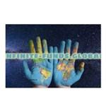 Infinite Funds Global Hand Map Postcards (Package