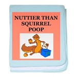 nutty crazy Infant Blanket
