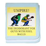 umpire t-shirts presents Infant Blanket
