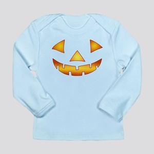 Jack-o-lantern Pumpkin Long Sleeve Infant T-Shirt