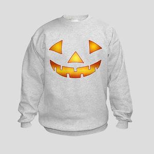 Jack-o-lantern Pumpkin Kids Sweatshirt