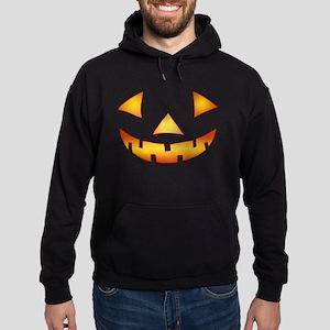 Jack-o-lantern Pumpkin Hoodie (dark)