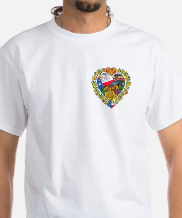 Love from Texas White T-Shirt