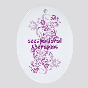 Occupational Therapist Ornament (Oval)