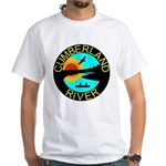 Cumberland River White T-Shirt