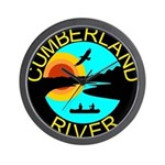 Cumberland River Wall Clock