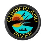 Cumberland River Large Wall Clock