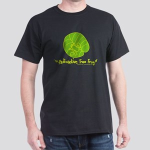 Radioactive Tree Frog! Black T-Shirt