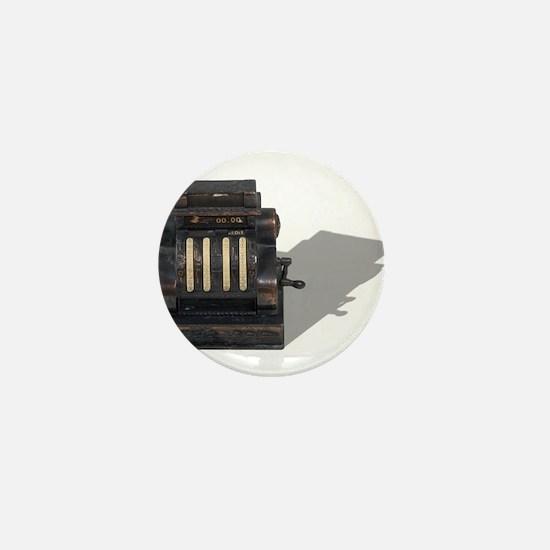 Antique Cash Register Mini Button