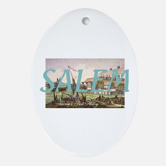ABH Salem Oval Ornament