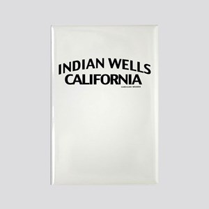 Indian Wells Rectangle Magnet