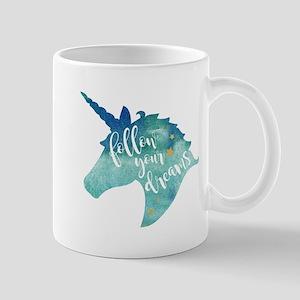 Follow Your Dreams Unicorn Mugs