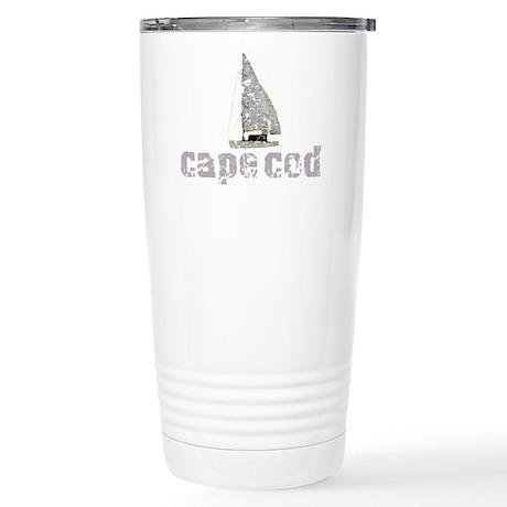 Cape Cod Sailboat Stainless Steel Travel Mug