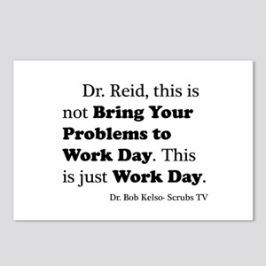 Not Bring Problems to Work Postcards (Package of 8