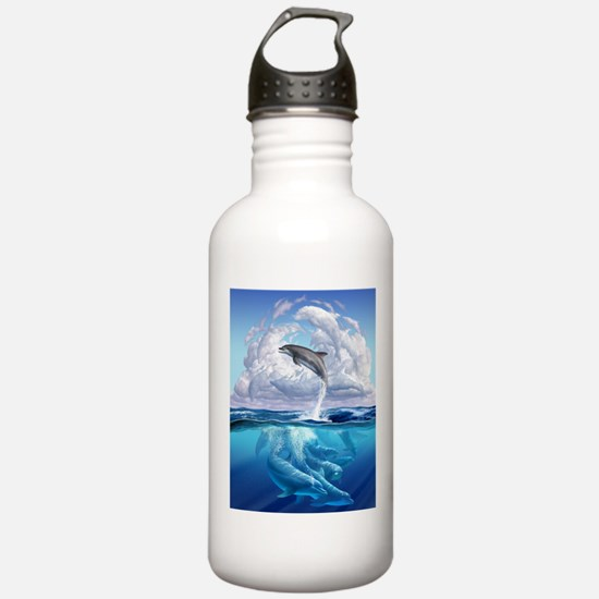 Dolphonic Symphony Water Bottle