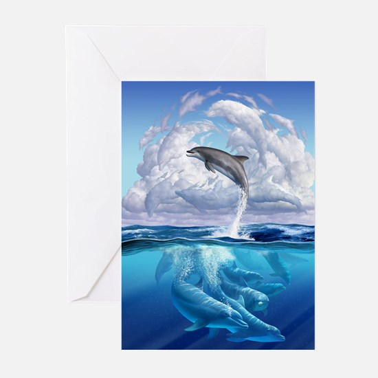 Dolphonic Symphony Greeting Cards (Pk of 20)