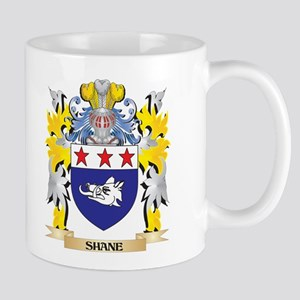 Shane Family Crest - Coat of Arms Mugs