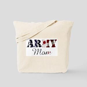Army Mom Flag Tote Bag