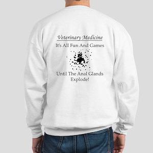 Anal Gland Design Sweatshirt