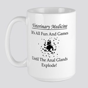 Anal Gland Design Large Mug