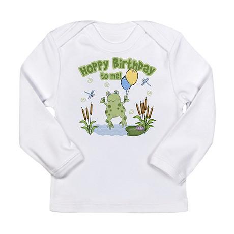 Froggy Birthday Long Sleeve Infant T-Shirt