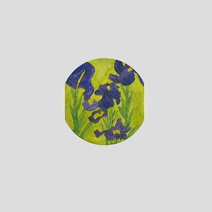 Abby H's Irises Mini Button