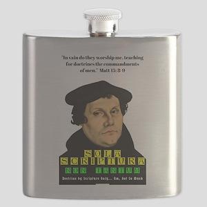 Sola Scriptura Non Tantum Flask