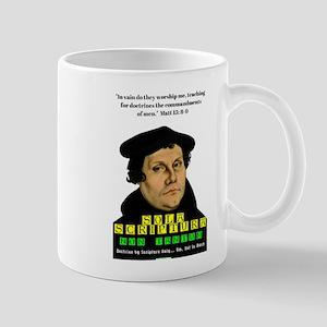 Sola Scriptura Non Tantum Mugs