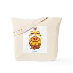 Kawaii Yellow Candy Apple Tote Bag