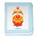Kawaii Yellow Candy Apple Infant Blanket