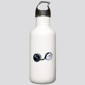 Piggy Bank Ball and Chain Stainless Water Bottle 1