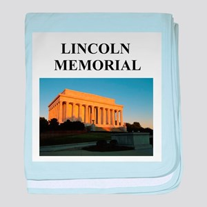 lincoln memorial washington g Infant Blanket