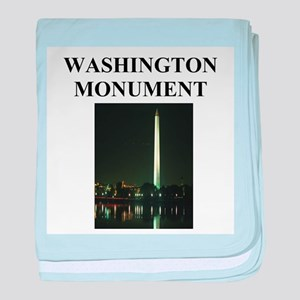 washington monument Infant Blanket