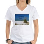 Simple Pleasures Women's V-Neck T-Shirt